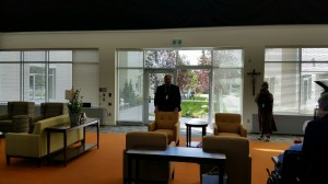 The Rewucki Great Room - Mr. Raymond Cormie, CEO of Providence Care Centre and Father Lacombe Care Centre